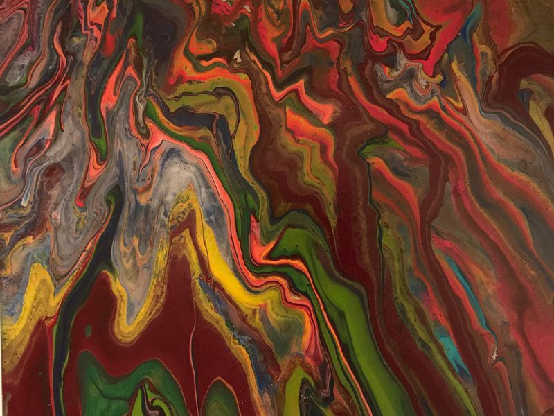 RIBBONS OF COLOR 18x24