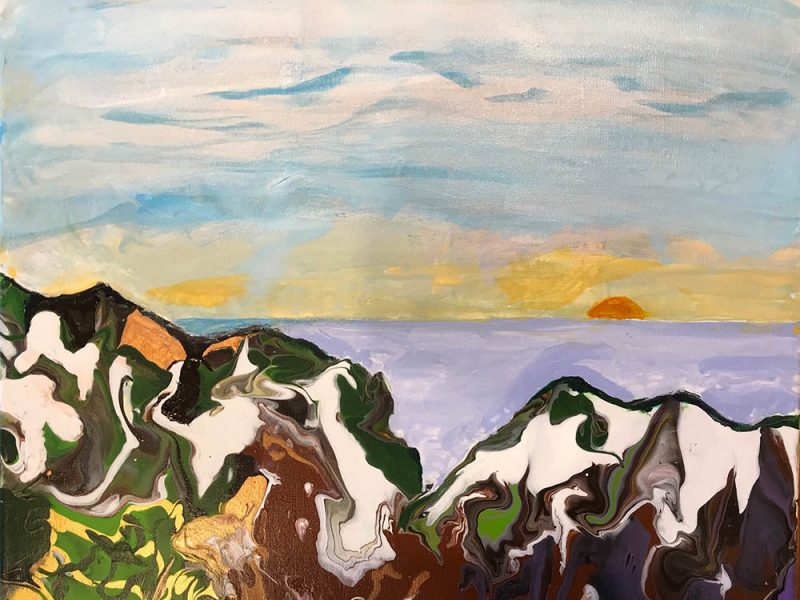 sunset-in-the-alps-18x24