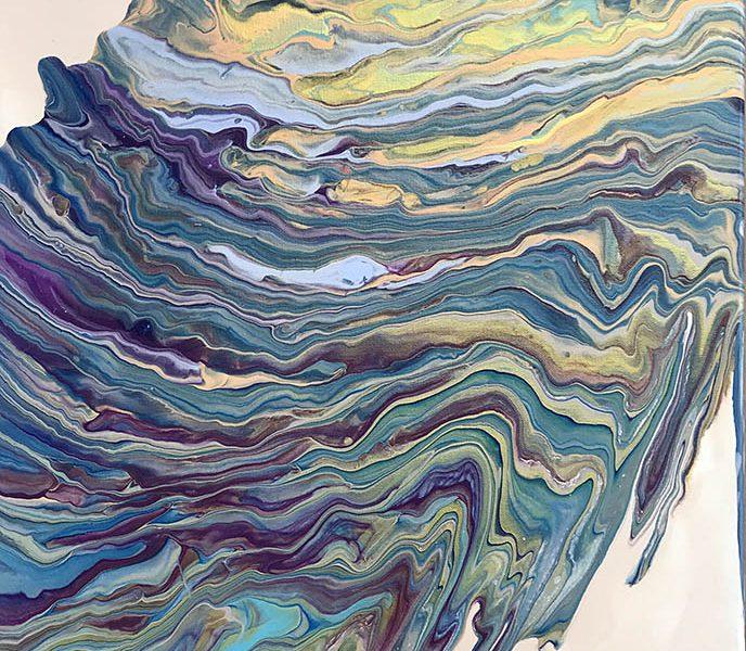 cascading colors..........20x24